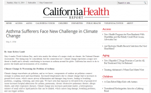 Asthma op ed by Anne Kelsey Lamb for the California Health Report