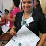community health worker at Environmental Health Coalition training